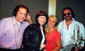 Flavinho, Sylvinha, Ângela e Ringo