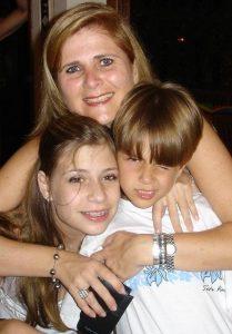 Leda, Nathalia e Guilherme